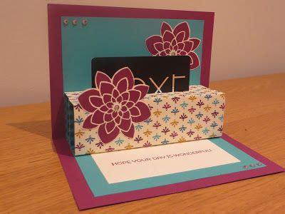 carding tutorial gift cards craftycarolinecreates pop up gift card holder tutorial