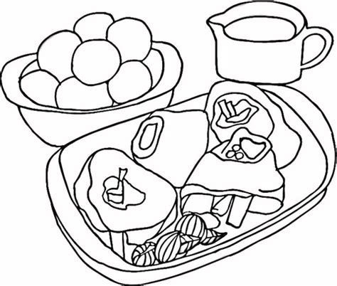 printable coloring pages of meats coloring pages