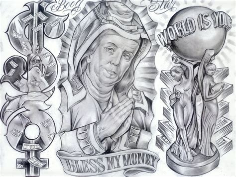 boog tattoo designs chicanos boog zimg otf