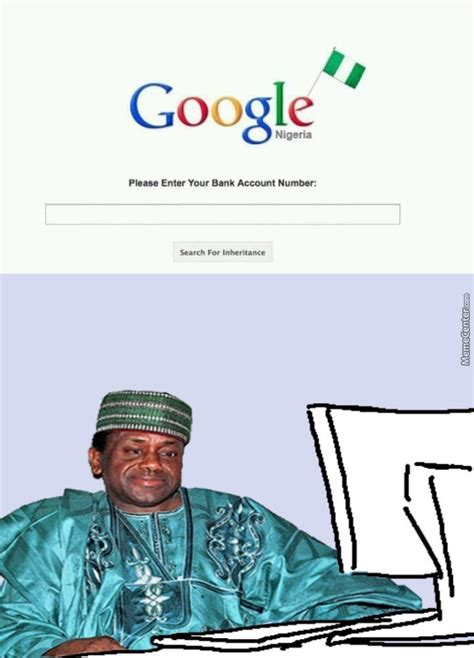 the nigerian prince has a new strategy by metallion meme