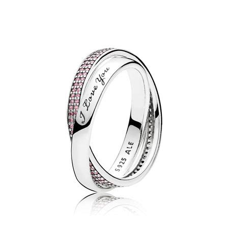 sweet promise ring pink cz pandora jewelry us