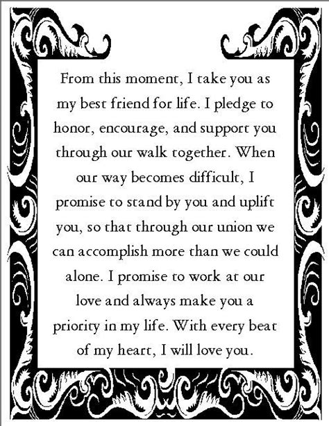 Wedding Vow Exles by And Sweet Wedding Vows For Him Wedding Ideas 2018
