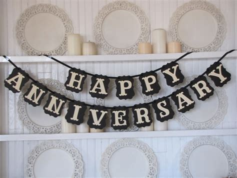 Wedding Anniversary Banner Ideas by Happy Anniversary Banner Anniversary Sign Anniversary