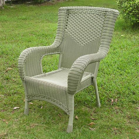 resin wicker aluminum dining chair ebay