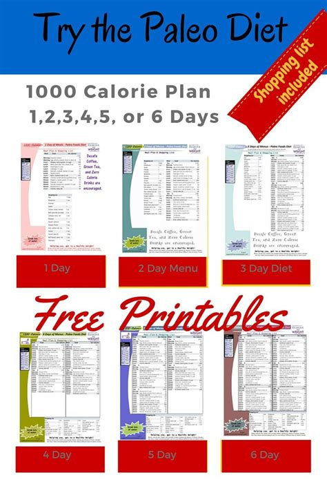 weight loss 700 calories day printable 1000 calorie paleo diet for 6 days or less