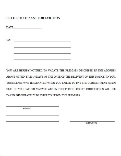 printable eviction notice form 78 best images about real estate forms on pinterest