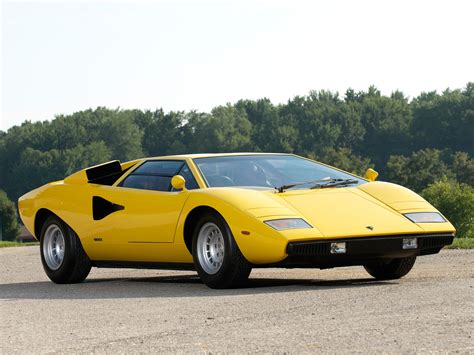 slowest lamborghini lamborghini countach lp400 uk spec 1974 78