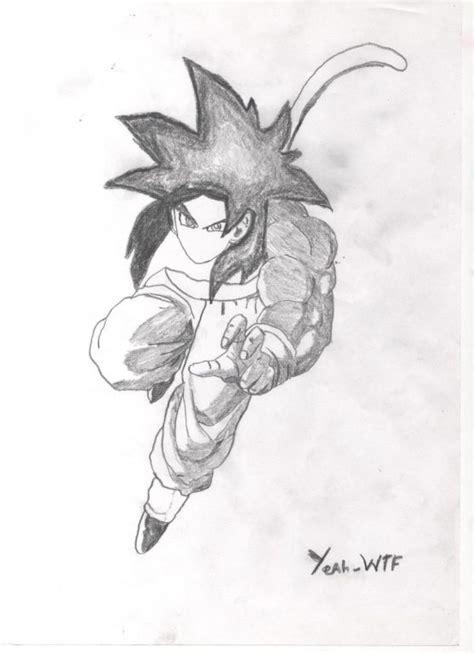 imagenes de goku blanco goku dibujo blanco y negro taringa