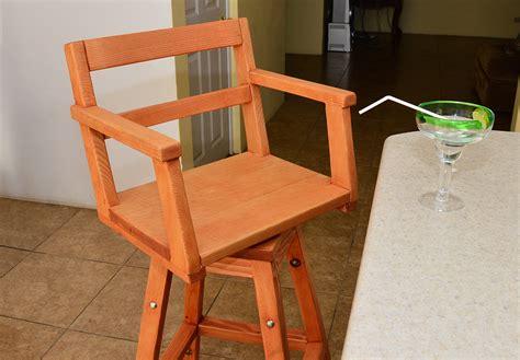 redwood captain s chair bar stool wooden bar stools