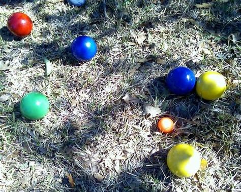 backyard bocce ball rules how to play bocce ball pinterest plays and backyards
