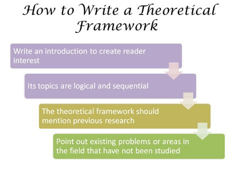 How To Make A Conceptual Framework In Research Paper - theoretical framework introduction presentation