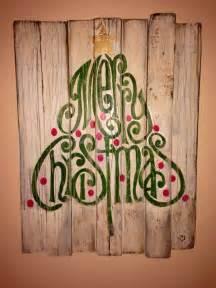 rustic wood christmas sign merry christmas sign