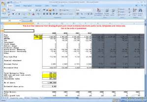 business valuation template xls best photos of dcf valuation excel dcf model excel