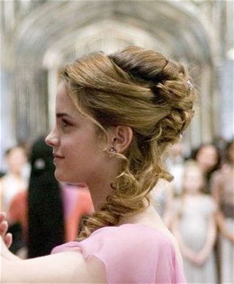 hermione yule ball hairstyle 550 best images about hermione granger emma watson on
