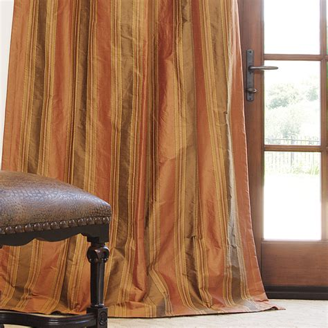silk drapes on sale hand made striped silk drapes and roman blinds on sale