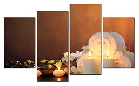 spa wall decor smartwallart 4 wall painting spa picture on