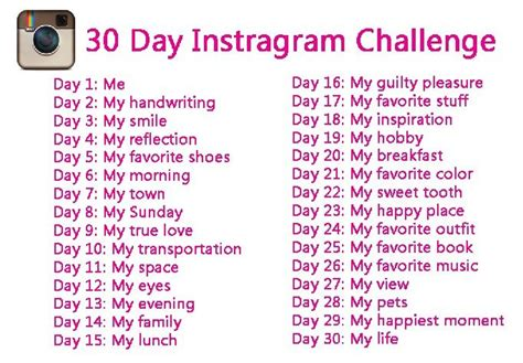 instagram challenge 38 best images about instagram challenges on