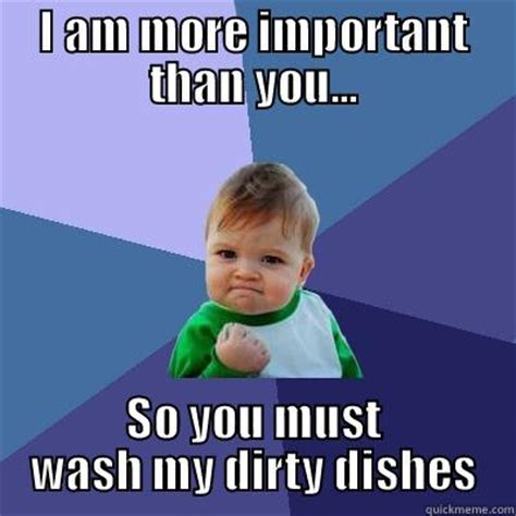 dirty dishes quickmeme