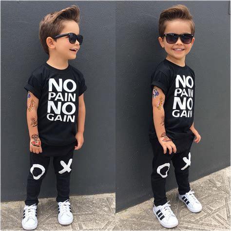 Cool Idea Clothuk by Uk 2pcs Toddler Baby Boy T Shirt Tops