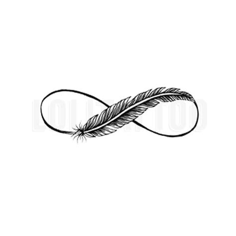 infinity tattoo design feather image result for believe infinity feather tattoo tattoos