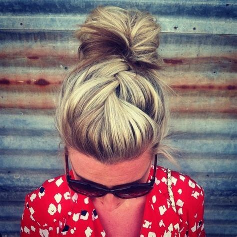 adorable must try hairstyles – the bun braid | fabulous