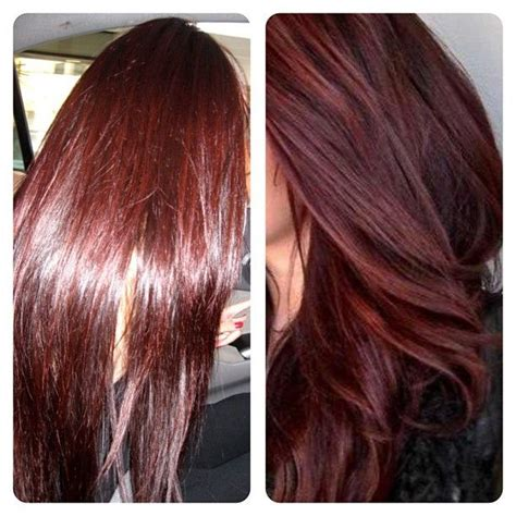 cherry cola red hair color cherry cola hair color at home hairstylegalleries com