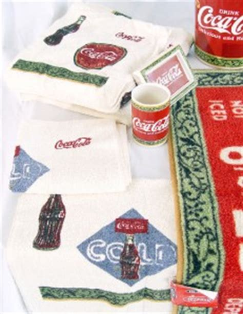 coca cola bathroom decor coca cola bathroom decor set 13 items ebay