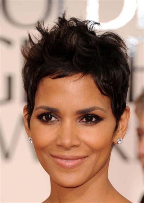 bonding hairstyles short halle berry james bond makeup pinterest