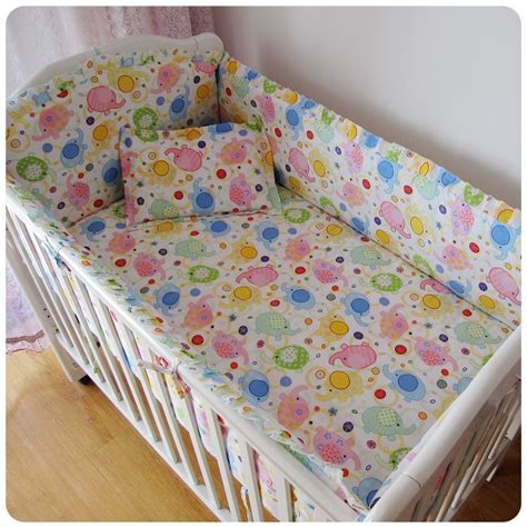cheap crib bedding sets with bumpers discount 6pcs baby crib bumper kids baby crib bedding set