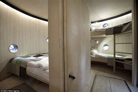 Nest Interiors by Branch Out At The Luxury Swedish Hotel Room Designed Like