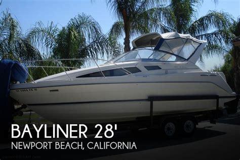 bayliner boats newport beach bayliner 2855 ciera sunbridge boat for sale in newport