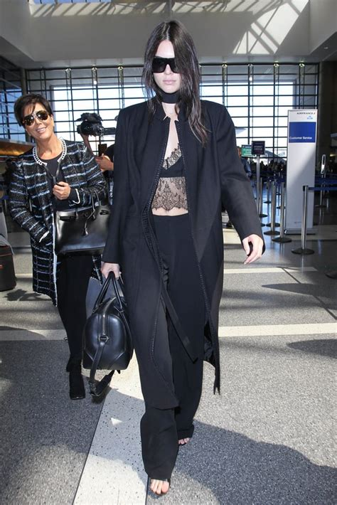 models airport outfits popsugar fashion