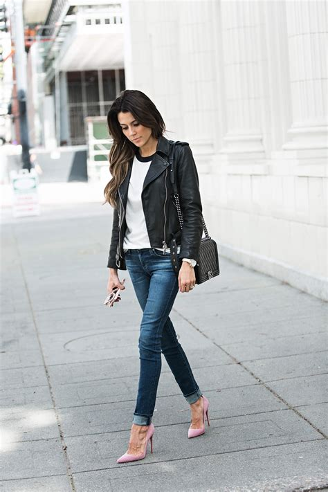 Would You Wear An All Denim Like On Project Runway Last by Rev Up Your Wardrobe With These Leather Jacket