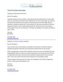Thank You Letter By Email 8 Career Fair Thank You Email Paradochart