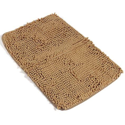 Bathroom Floor Rugs by 40x60cm Chenille Bathroom Anti Slip Absorbent Carpet Door