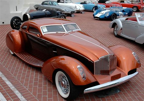 Handcrafted Cars - 1996 packard myth 1934 boattail coupe coches