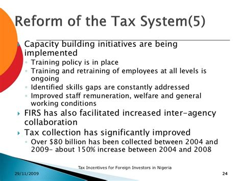 bureau v駻itas certification tax incentives in nigeria firs