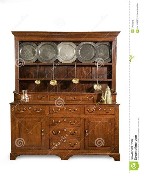 Oak Kitchen Dresser by Oak Kitchen Dresser Antique Stock Photo Image 49953675