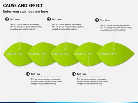 cause and effect template cause and effect diagram powerpoint template sketchbubble