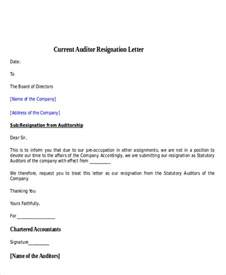 Sle Non Acceptance Of Resignation Letter From Employer 30 Resignation Letter Exles