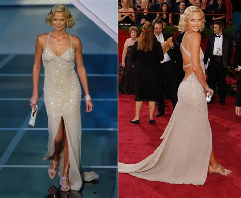 film oscar charlize theron charlize theron 2004 photos best oscar dresses of all