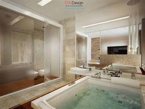Master Bathroom Designs luxurious modern cottage with rich warm textures