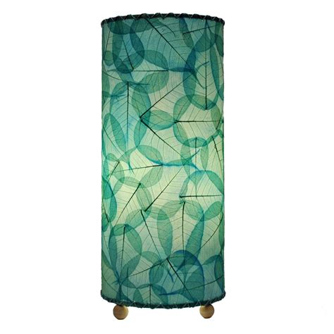 eangee home designs banyan table l sea blue shade