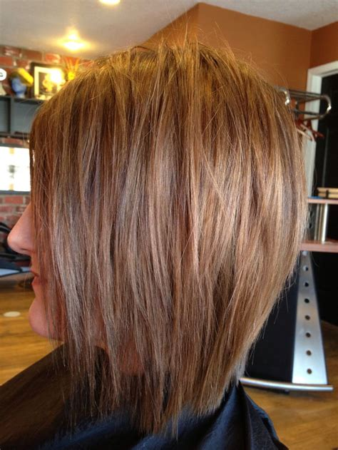 hair salon pictures of sholder length hair shoulder length layered bob cuts and styles straight