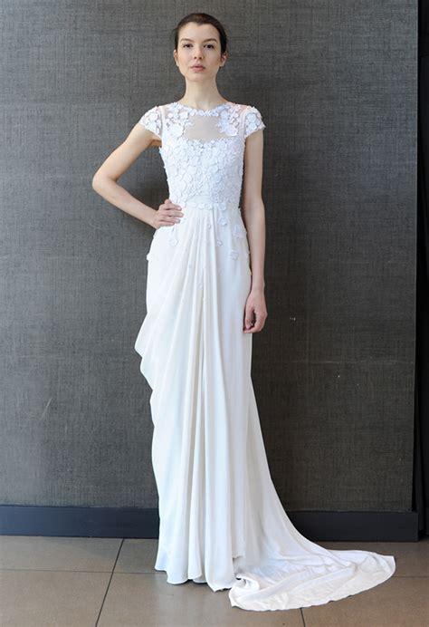 Brautkleid Modern by Bridal Market 2015 Three Fab Wedding Dress Trends Hey