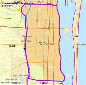 Palm Beach Zip Code Map by Zip Code Map Of 33405 Demographic Profile Residential