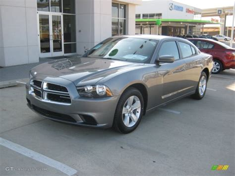 2012 dodge charger colors 2012 tungsten metallic dodge charger se 59860273