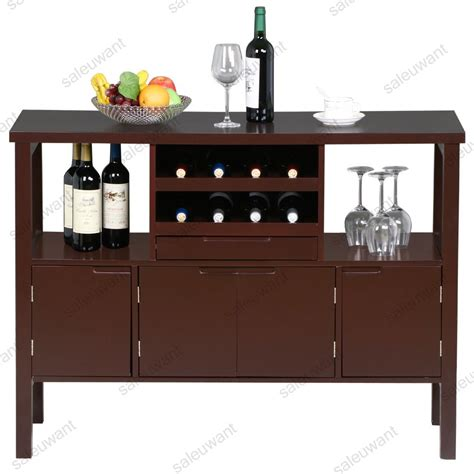 Dining Room Hutch With Wine Rack by Dining Room Sideboard Display Table Unit Kitchen Buffet