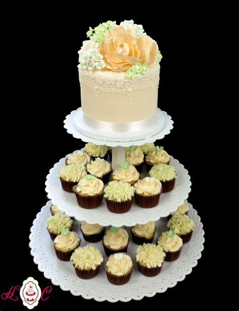 Akrilik Gold Toper Forever Always 90 rustic gold wedding cake pink and gold wedding cakes