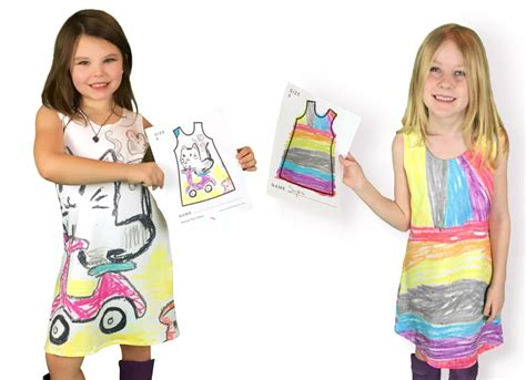 picture this clothing turns your kid s crayon into a